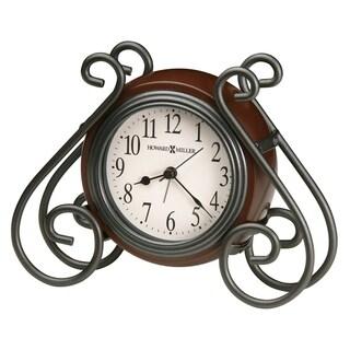 Howard Miller Diane Classic, Traditional, Transitional, Alarm Clock with Large Numbers, Reloj Despertador