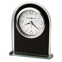 Howard Miller Ebony Luster Contemporary, Modern, Classic Style & Sleek Alarm Clock, Reloj Despertador