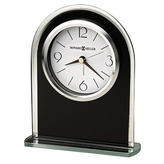 Howard Miller Ebony Luster Contemporary, Modern, Classic Style & Sleek Alarm Clock, Reloj Despertador
