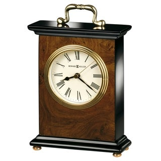 Howard Miller Berkley Classic, Traditional, Transitional, Piano Finish Mantel Clock, Reloj del Estante