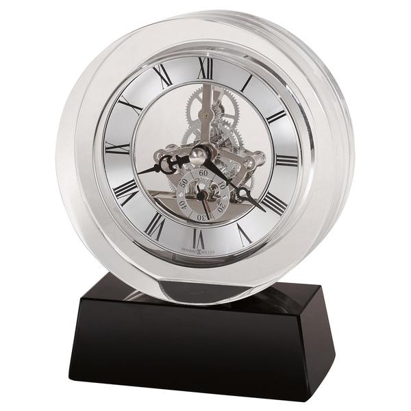 Howard Miller Fusion, Contemporary Modern, Glam, and Sleek Table Clock with Movements, Reloj de Mesa