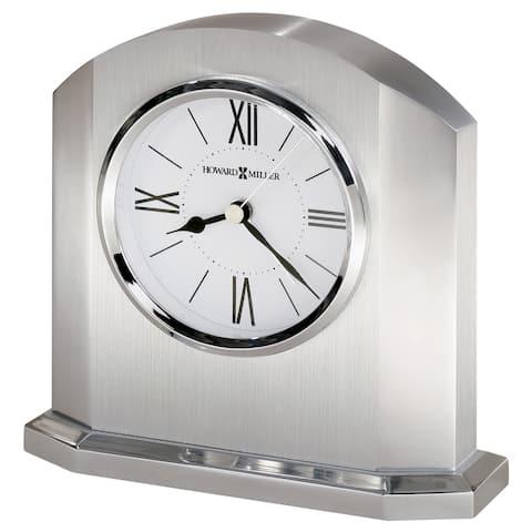 Howard Miller Lincoln Contemporary Modern, Classic, Sleek Alarm Clock, Reloj Despertador