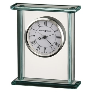 Howard Miller Cooper Contemporary, Modern, Classic Style & Sleek Mantel Clock, Reloj del Estante