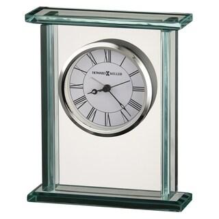 Howard Miller Cooper Contemporary, Modern, Classic Style & Sleek Mantel Clock, Reloj del Estante