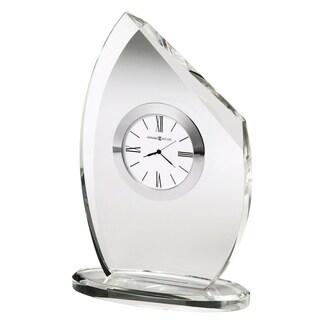 Howard Miller Cascade, Elegant, Glam, and Classic Optical Crystal Table Clock, Reloj de Mesa