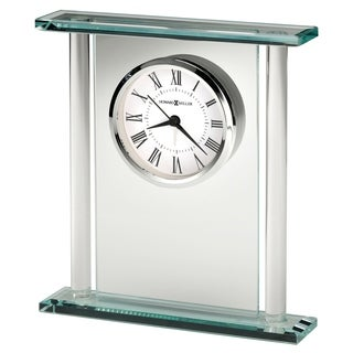 Howard Miller Julian, Chic, Bold, and Sleek, Art Deco, Vintage Table Clock, Reloj de Mesa