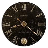 Howard Miller London Night Elegant, Glam, Vintage Style Distressed Statement Wall Clock