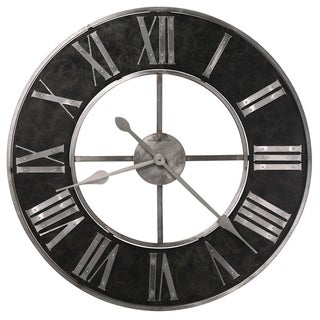 Howard Miller Dearborn Industrial, Transitional, Vintage, and Chic, Statement Gallery Wall Clock, Reloj De Pared