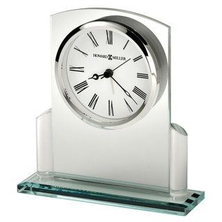 Howard Miller Colton, Chic, Bold, and Sleek, Art Deco, Vintage Table Clock, Reloj de Mesa