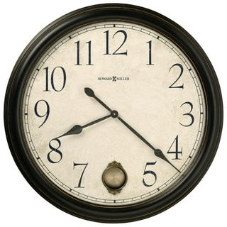 Howard Miller Glenwood Falls Elegant, Classic, Transitional, and Chic Style Wall Clock with Pendulum, Reloj De Pared