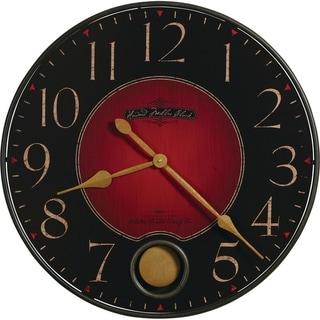 Howard Miller Harmon Vibrant, Contemporary, Modern, Bold, Statement Wall Clock with Pendulum, Reloj De Pared