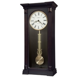 Howard Miller Mia Elegant, Modern, Transitional, Sleek and Contemporary Chiming Wall Clock with Pendulum