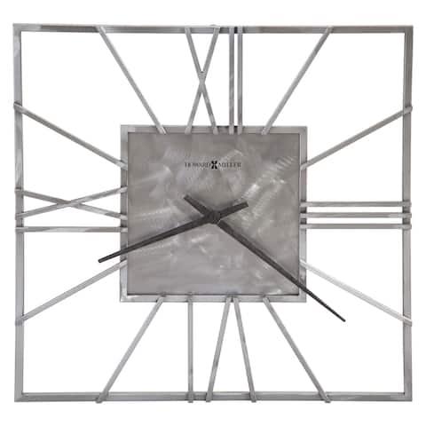 Howard Miller Lorain Elegant, Modern, Transitional, Sleek and Bold Gallery Wall Clock, Reloj De Pared