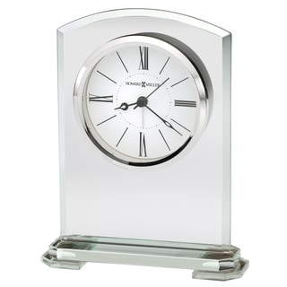 Howard Miller Corsica, Contemporary Modern, Sleek, and Chic, Classic Style Table Clock, Reloj de Mesa