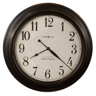 Howard Miller Ashby Classic, Contemporary, Transitional, and Distressed Style Wall Clock with Large Numbers, Reloj De Pared
