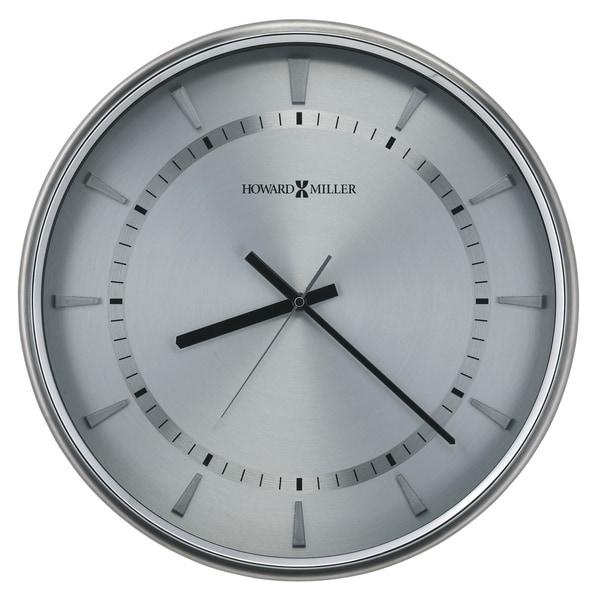 Howard Miller Chronos Watch Dial Iii Silver Modern Contemporary Wall Clock