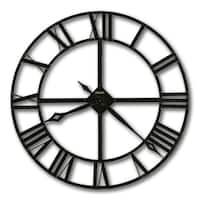 Howard Miller Lacy II Modern, Industrial, Transitional and Bold, Statement Wall Clock, Reloj De Pared