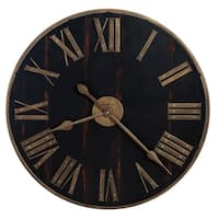 Howard Miller Murray Grove Industrial Chic, Transitional, Vintage, and Rustic, Statement Gallery Wall Clock, Reloj De Pared