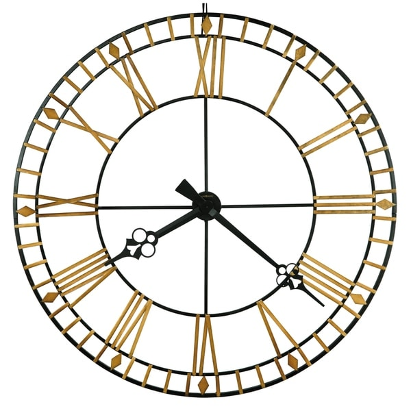 Howard Miller Avante Elegant, Modern, Transitional, Sleek and Industrial Chic Gallery Wall Clock, Reloj De Pared
