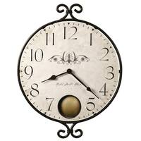 Howard Miller Randall Charming, Contemporary, Farmhouse, and Transitional Style Distressed Wall Clock, Reloj De Pared