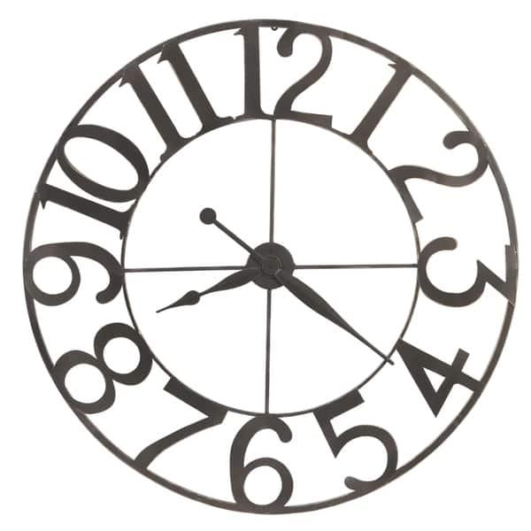 Howard Miller Felipe Industrial Abstract Contemporary Modern Wall Clock Reloj De Pared Overstock 22819939