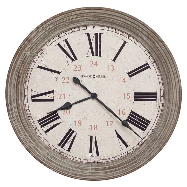 Howard Miller Nesto Rustic, Transitional, Vintage, and Farmhouse Style Gallery Wall Clock, Reloj De Pared