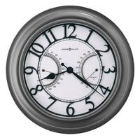 Howard Miller Tawney Indoor & Outdoor Wall Clock with Contemporary Modern Design, Reloj de Pared