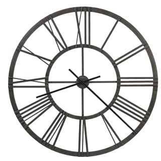 Howard Miller Jemma Industrial, Contemporary, Transitional, Modern Wall Clock, Reloj de Pared