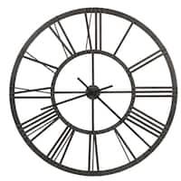 Howard Miller Jemma Industrial, Contemporary, Transitional, Modern Wall Clock, Reloj de Pared