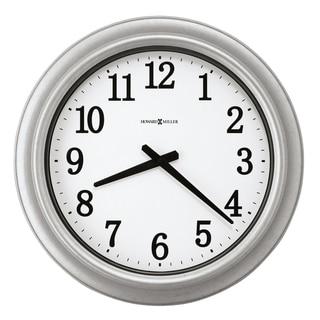 Howard Miller Stratton Galvanized Steel Indoor/Outdoor Contemporary Modern Wall Clock, Reloj de Pared