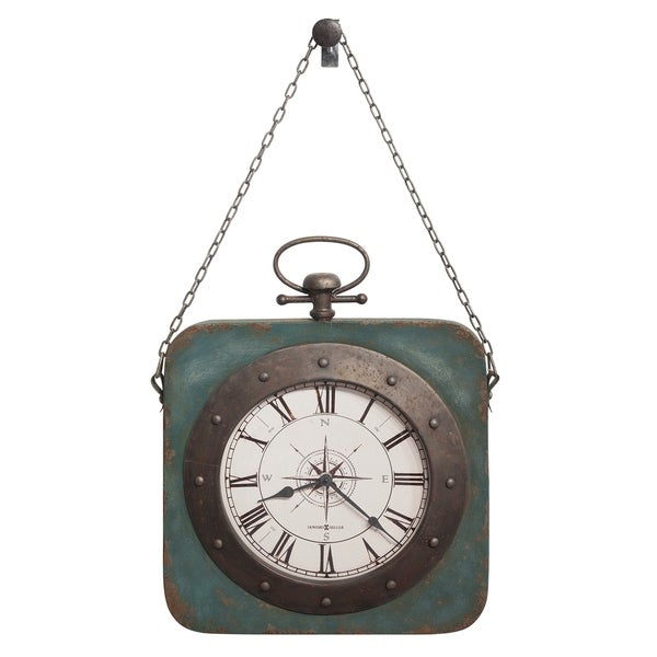 Howard Miller Windrose Charming, Farmhouse Chic, Vintage, Beachy Glam Gallery Wall Clock, Reloj De Pared