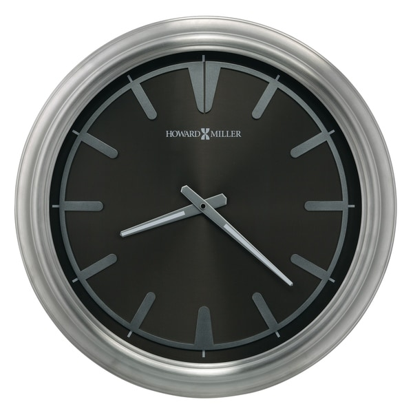 Howard Miller Chronos Watch Dial IV, Titanium, Modern, Contemporary, Glam Wall Clock, Reloj de Pared