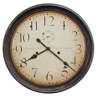 Howard Miller Squire Rustic, Transitional, Vintage, and Farmhouse Style Gallery Wall Clock, Reloj De Pared