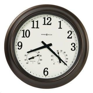 Link to Howard Miller Bay Shore Indoor & Outdoor Classic, Nautical, Coastal Wall Clock with Temperature Gauges, Reloj de Pared Similar Items in Decorative Accessories