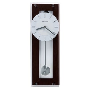 Howard Miller Emmett Transitional, Modern and Contemporary, Bold and Chic, Wall Clock with Pendulum, Reloj De Pared
