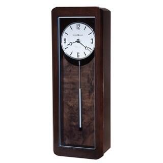 Howard Miller Aaron Elegant, Contemporary, Modern, Bold, Statement Chiming Wall Clock with Pendulum, Reloj De Pared
