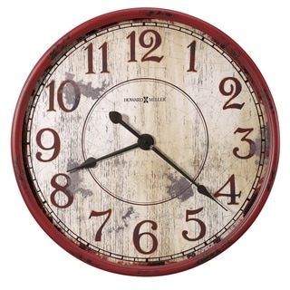 Howard Miller Back 40 Rustic, Transitional, Vintage, and Farmhouse Style Gallery Wall Clock, Reloj De Pared