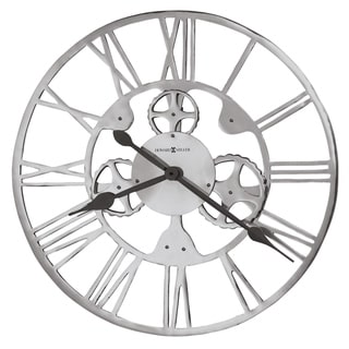 Howard Miller Mecha Industrial Abstract Steampunk Style Wall Clock - 29.5 in. x 29.5 in. x 2.5 in.
