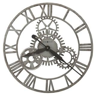 Howard Miller Sibley Antique, Steampunk, Industrial Wall Clock, Reloj de Pared