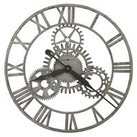 Howard Miller Sibley Antique, Steampunk, Industrial Wall Clock, Reloj de Pared