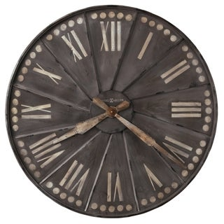 Howard Miller Stockard Rustic, Transitional, Vintage, Farmhouse and Industrial Style Gallery Wall Clock, Reloj De Pared