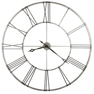 Howard Miller Stockton Industrial, Modern, Transitional, and Contemporary Statement Wall Clock with Large Numbers