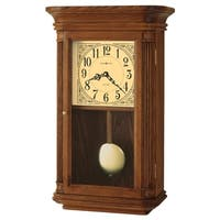 Howard Miller Westbrook Grandfather Clock Style Chiming Wall Clock with Pendulum, Vintage, Old World, Classic Design