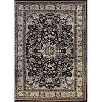 Rug Tycoon Red Wool Oriental Traditional Red Rug - 10' x 13'