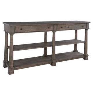 Howard Miller Lincoln Park Taupe Solid Wood Buffet Cabinet