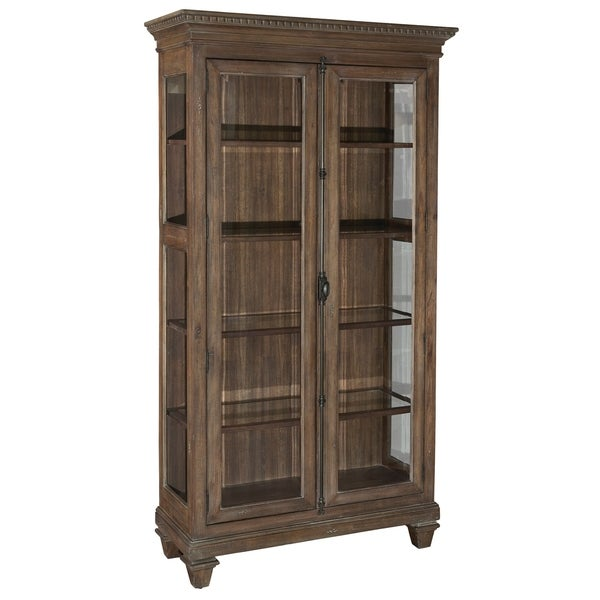 Hekman Furniture Contemporary 4-shelf Display Storage Cabinet