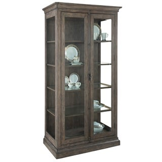 Hekman Furniture Lincoln Park China Storage Curio Cabinet - 82 in. high x 43 in. wide x 18 in. deep