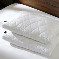 Downluxe Gusseted Feather and Down Pillows ( Set of 2) - White
