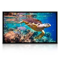 "Pyle PRJTPFL122 Home Theater Fixed Flat Projection Screen 120"" - Black"
