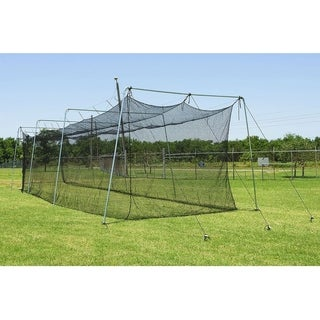 Link to Cimarron Sports 55x12x12 No 24 Twisted Polyethylene Batting Cage and Cable Frame Similar Items in Team Sports Equipment